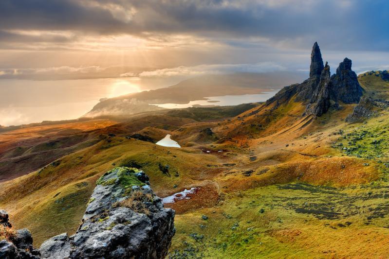 Skócia Repülővel