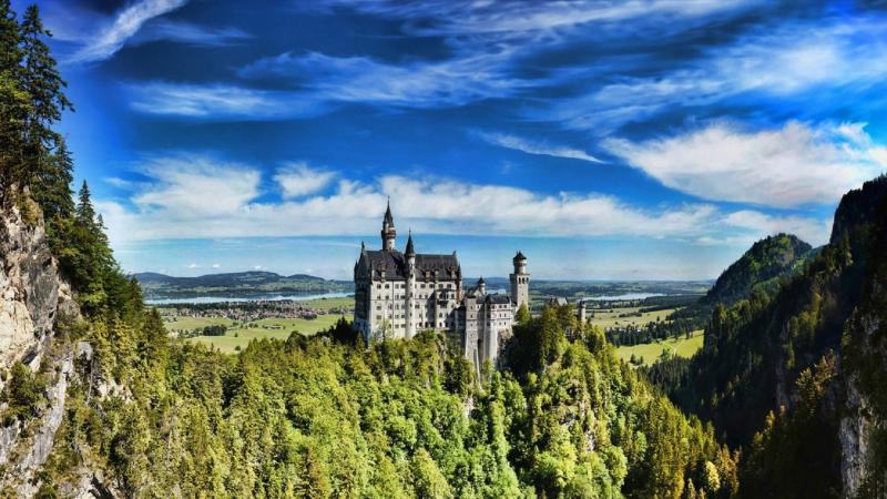 Titokzatos Tündérkirály kastélyai Bajorországban