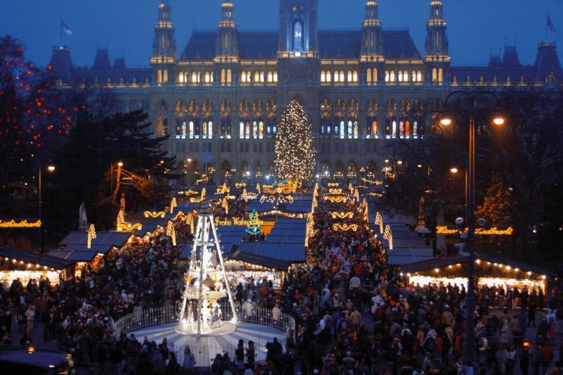 Adventi varázslat Bécsben