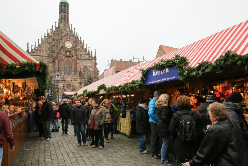 Advent Nürnbergben, Rothenburg és Regensburg