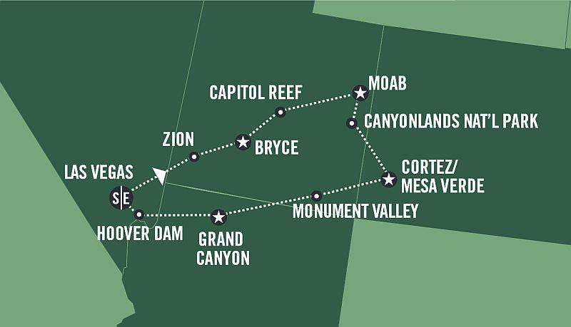 Canyon Adventure - Fly&Drive