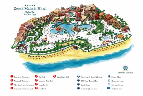 Hotel The Grand Makadi *****