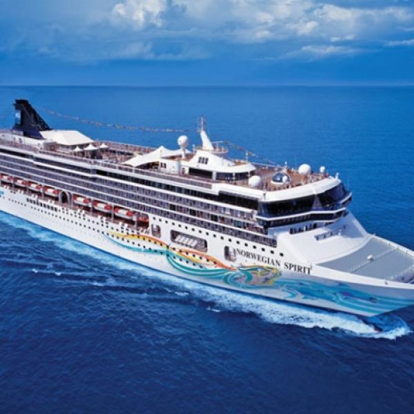 NCL Spirit - Nyugat-Mediterrán hajóút Rómából