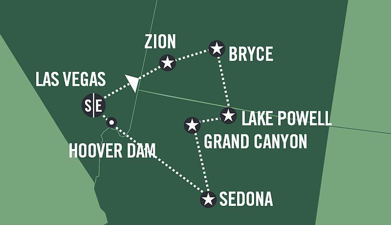National Parks Explorer - Fly & Drive