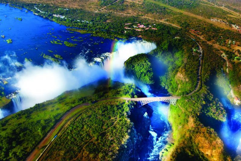 Dél-Afrika, a Viktória-vízesés és Mauritius