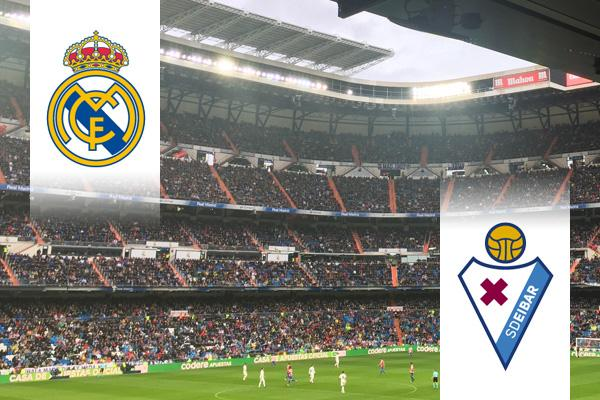Real Madrid - Eibar repülős út