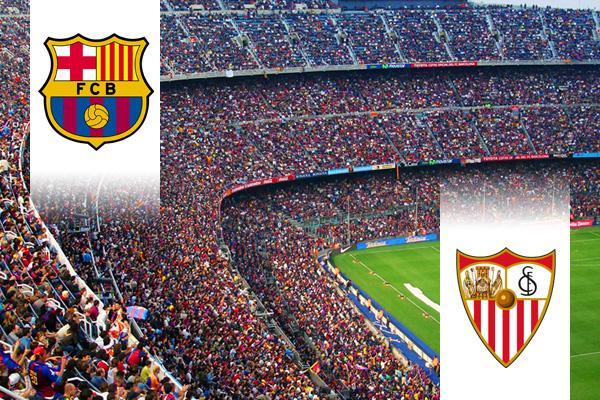 FC Barcelona - Sevilla repülős út