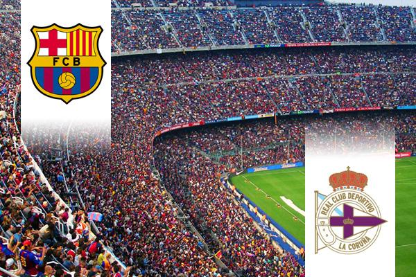 FC Barcelona - Deportivo repülős út