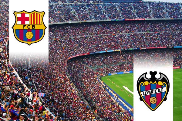 FC Barcelona - Levante repülős út