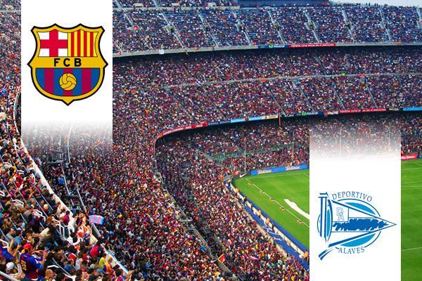 FC Barcelona - Alavés repülős út