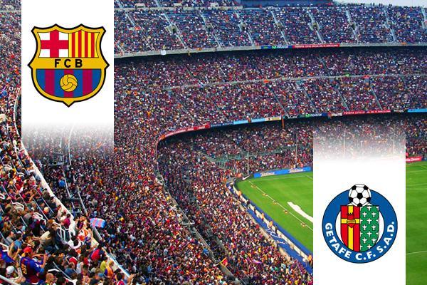 FC Barcelona - Getafe repülős út