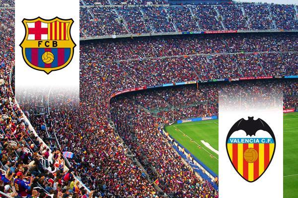 FC Barcelona - Valencia repülős út