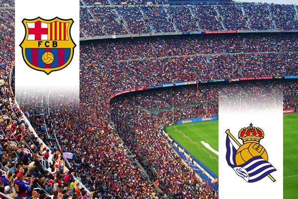 FC Barcelona - Real Sociedad repülős út
