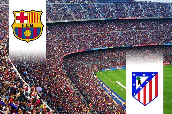 FC Barcelona - Atlético Madrid repülős út