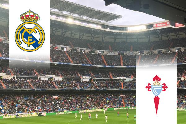 Real Madrid - Celta de Vigo repülős út