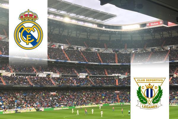 Real Madrid - Leganés repülős út