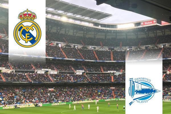 Real Madrid - Alavés repülős út