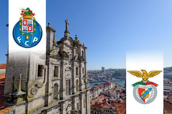 FC Porto - SL Benfica repülős út
