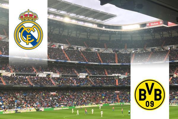 Real Madrid - Dortmund BL repülős út
