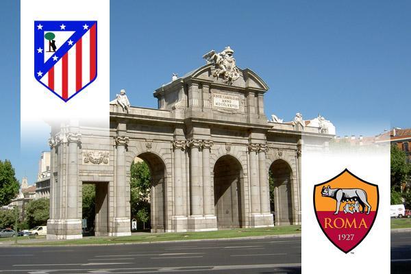 Atlético Madrid - AS Roma BL repülős út