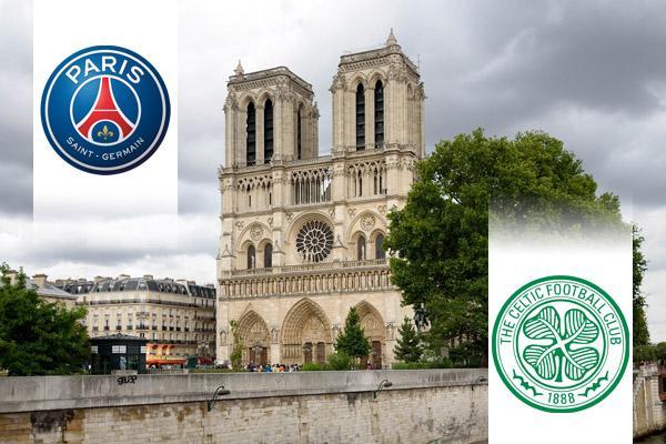 Paris Saint-Germain - Celtic BL repülős út