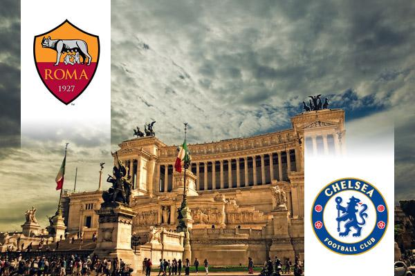 Roma - Chelsea BL repülős út