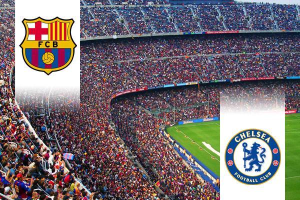 FC Barcelona - Chelsea BL repülős út