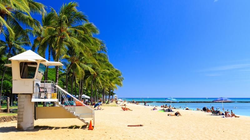 Őszi Hawaii üdülés