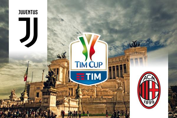 Juventus - Milan Olasz Kupa döntő