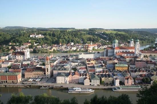 Passau - Budapest Hajóval