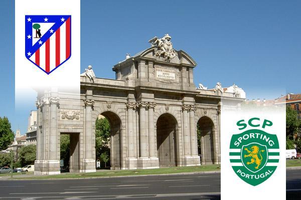 Atlético Madrid - Sporting Lisszabon EL repülős út