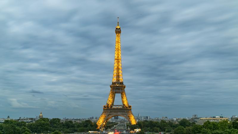 Párizs - gazdagon - autóbusszal