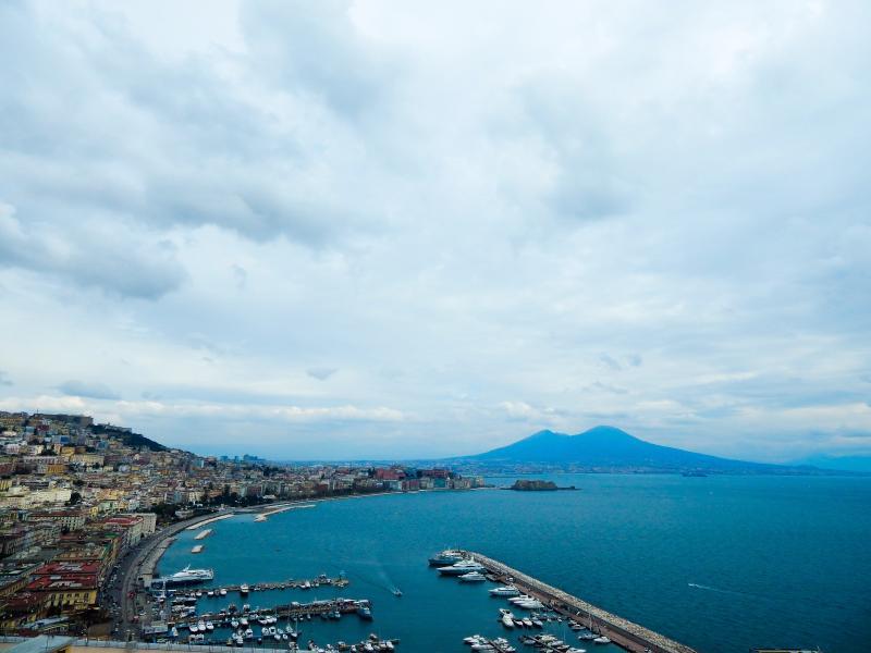A Vezúvtól az amalfi partokig - repülővel