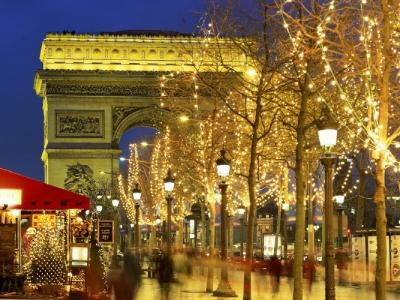 Karácsony Párizsban
