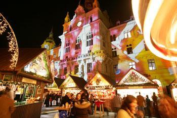 Advent Grazban + Zotter Csokoládégyár látogatás