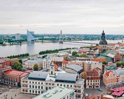 Pünkösdi hétvége Rigában