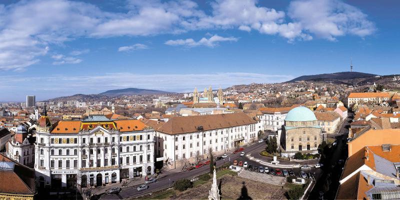 A kultúra fővárosa: Pécs***