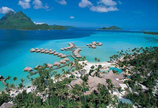 Nászút Tahitin - Hotel Bora Bora Pearl Beach*****