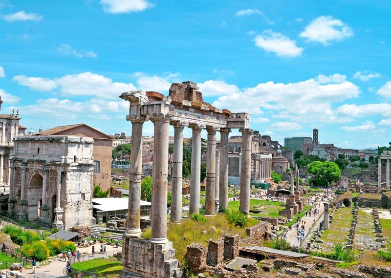 Nyárbúcsúztató Rómában