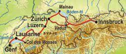 Ausztria - Németország - Svájc - Liechtenstein (Mainau virágsziget)