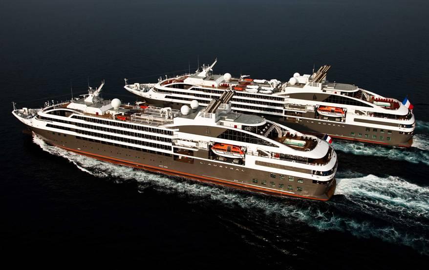 Compagnie du Ponant hajóutazások