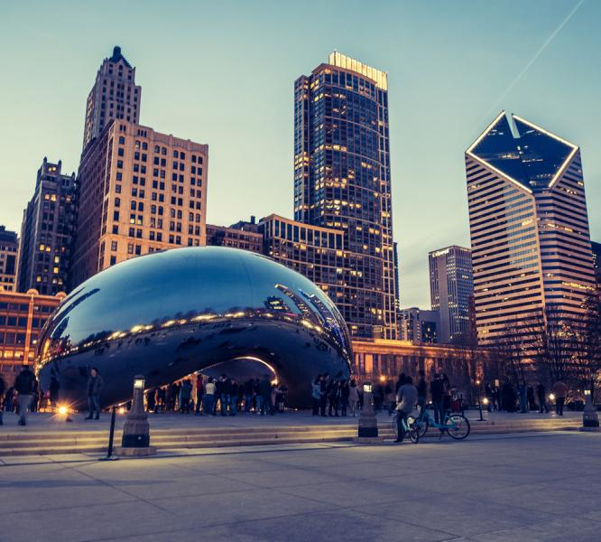 Chicago városlátogatás