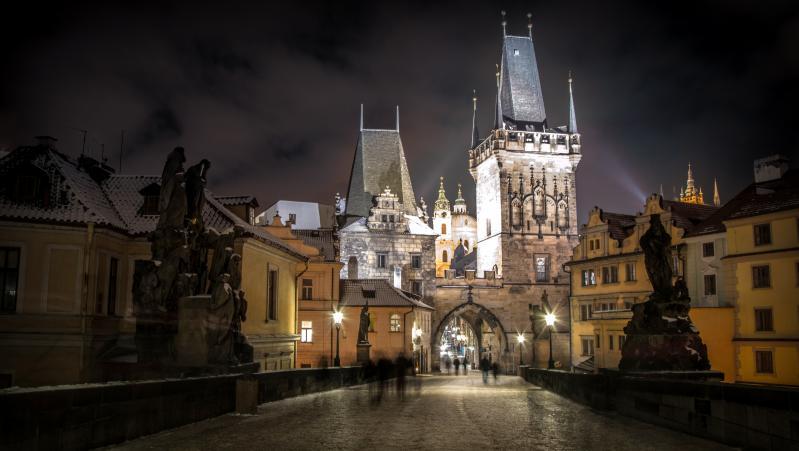 Arany Prága szilveszterkor 2021