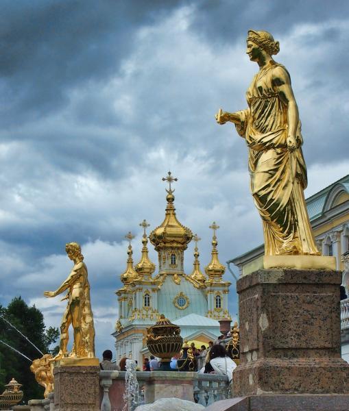 Szentpétervár és Moszkva városlátogatás