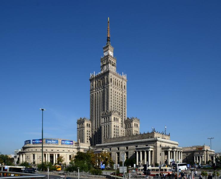 Varsó - Tudomány és a Kultúra palotája