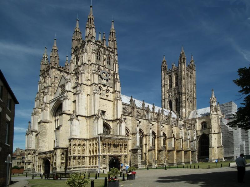 Canterbury - Katedrális