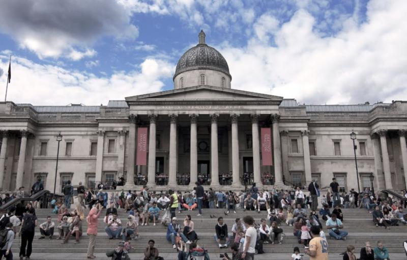 London - Nemzeti Galéria épülete
