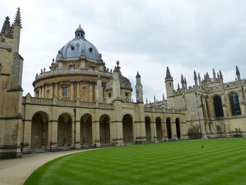 Oxford - Radcliffe Camera egyetemi épület