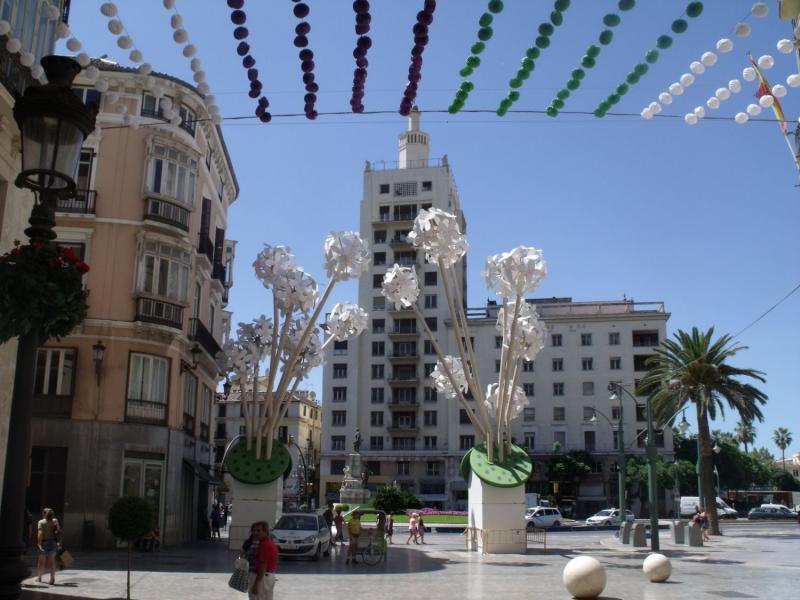 Andalúzia városlátogatás, Malaga 7