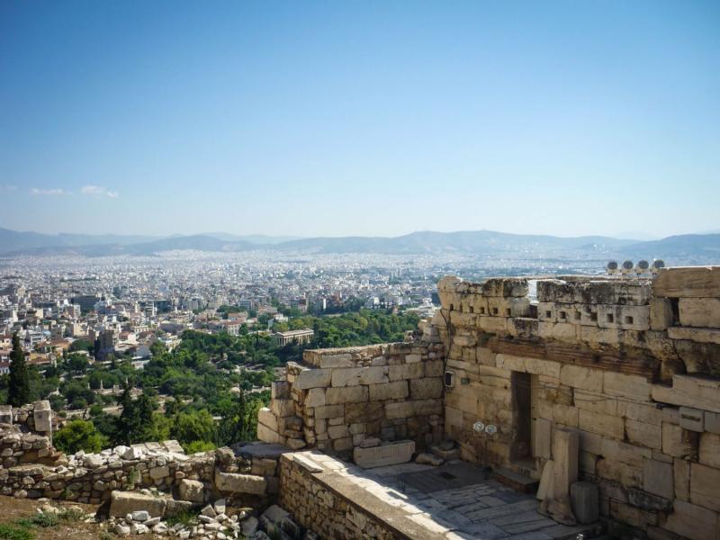 Görögország városlátogatás, Athén 1